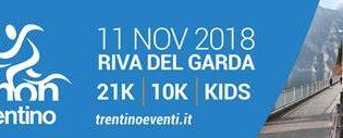 17.a Garda Trentino Half Marathon domenica 11 novembre