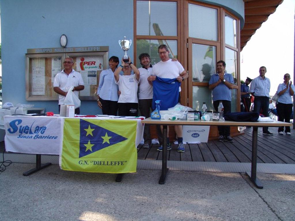 i vincitori Desenzano campionato vela disabili 2018