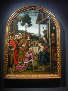 Perugino - Adorazione dei Magi 1