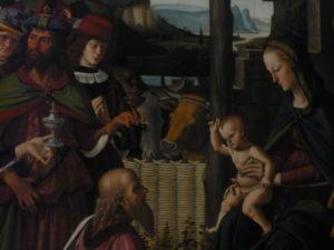 Perugino - Adorazione dei Magi 2