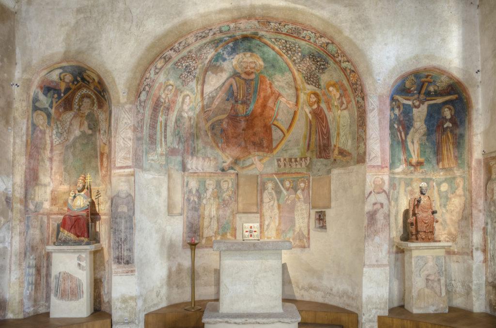 affreschi San Pietro in Mavino