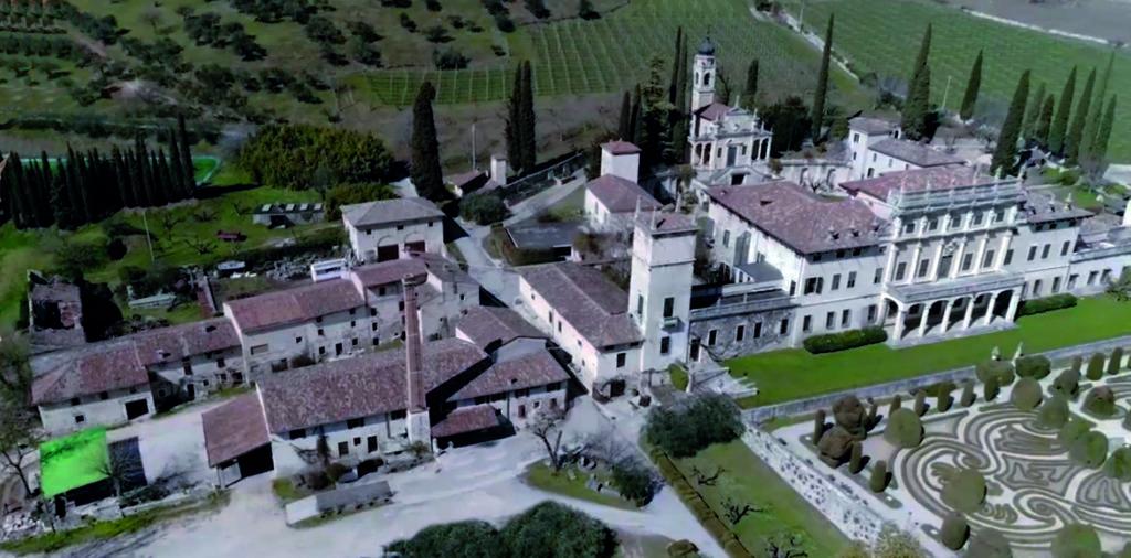 Villa e Frantoio ARVEDI alto Grezzana