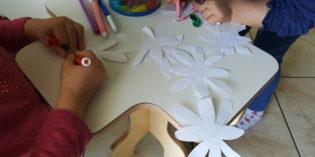 bimbi creativi: I FIORI MAGICI  CHE SI SCHIUDONO DA SOLI
