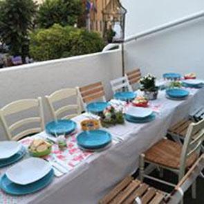 """terrazzo al """"Dolce Caffè"""" di Desenzano"""