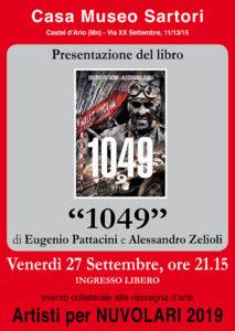 """Libro """"1049"""" dedicato a Tazio Nuvolari"""