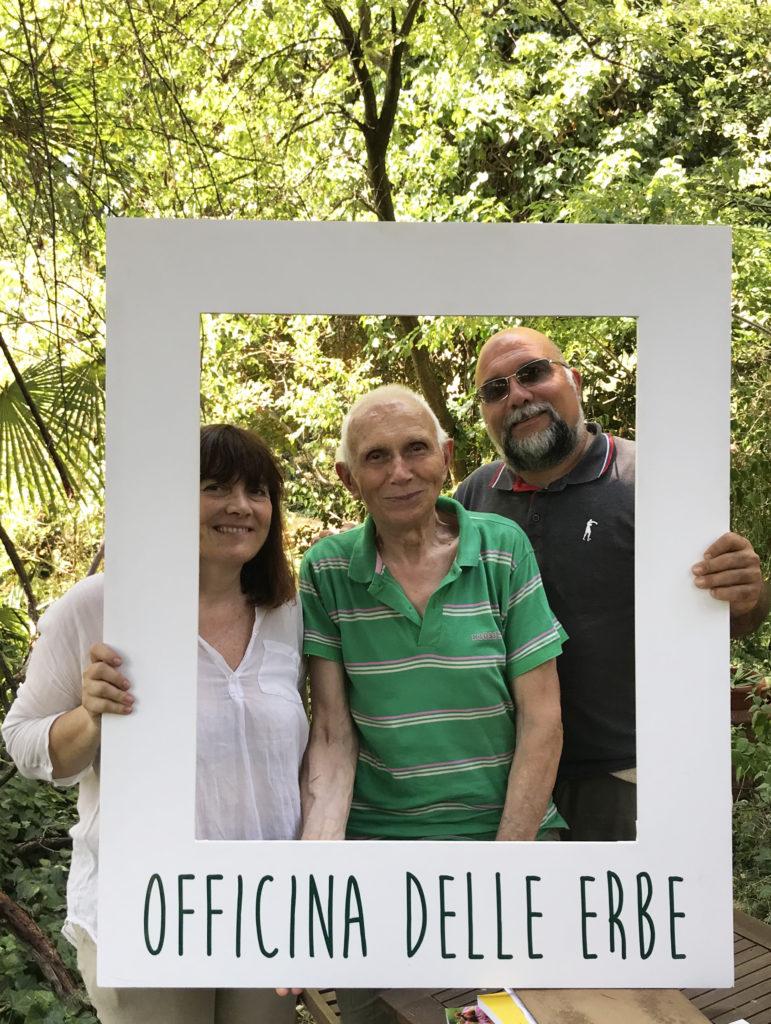 Pietro Zucchetti con Onorio Belussi e Raffaella Visconti