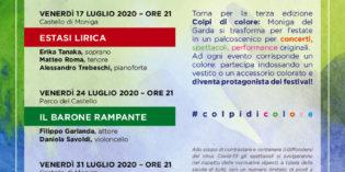 COLPI DI COLORE<br> IV° edizione del Festival di Moniga del Garda